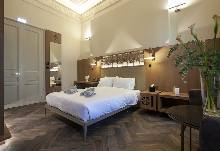 Athens 1890 Hotel & Spa - Adults Only, Atenas, Quarto casal superior, Quarto