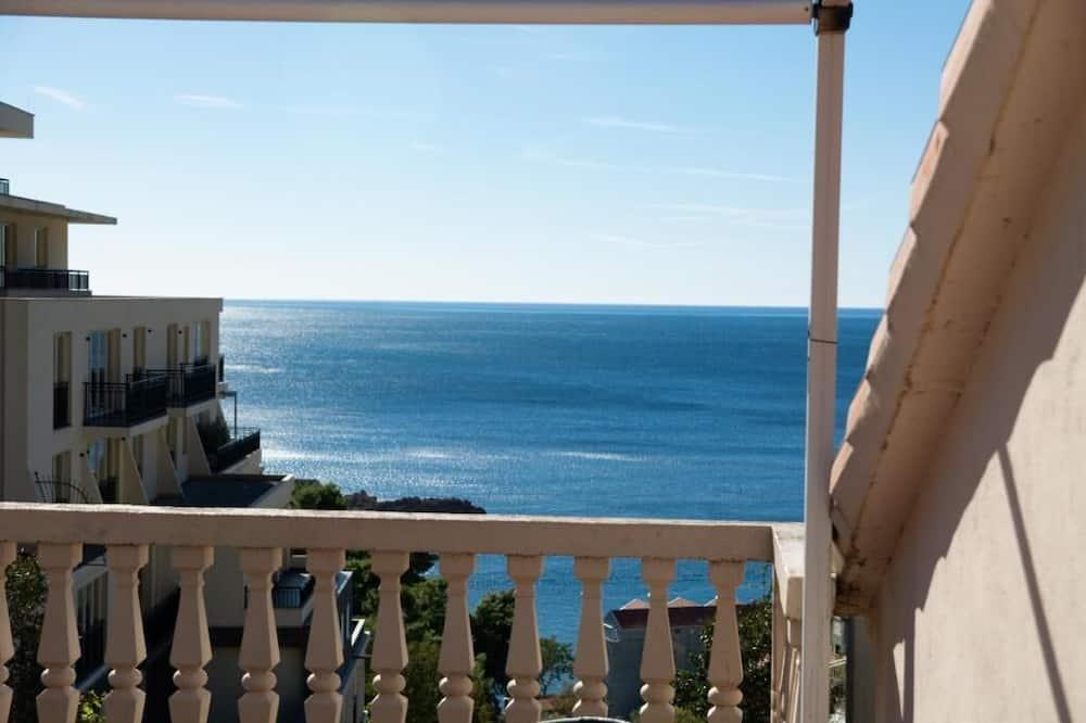 Apartament typu Comfort, 2 sypialnie, taras, widok na morze - Z widokiem na balkon