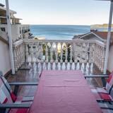 Apartament typu Comfort, 2 sypialnie, taras, widok na morze - Taras/patio