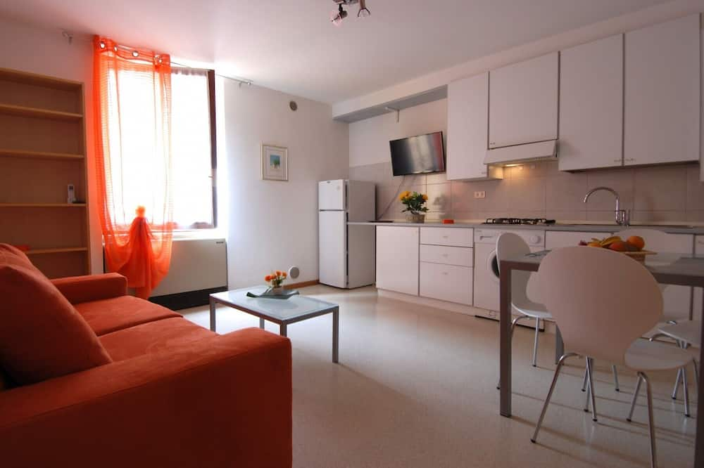 都會公寓, 1 間臥室 (Sant'Andrea 3) - 客廳