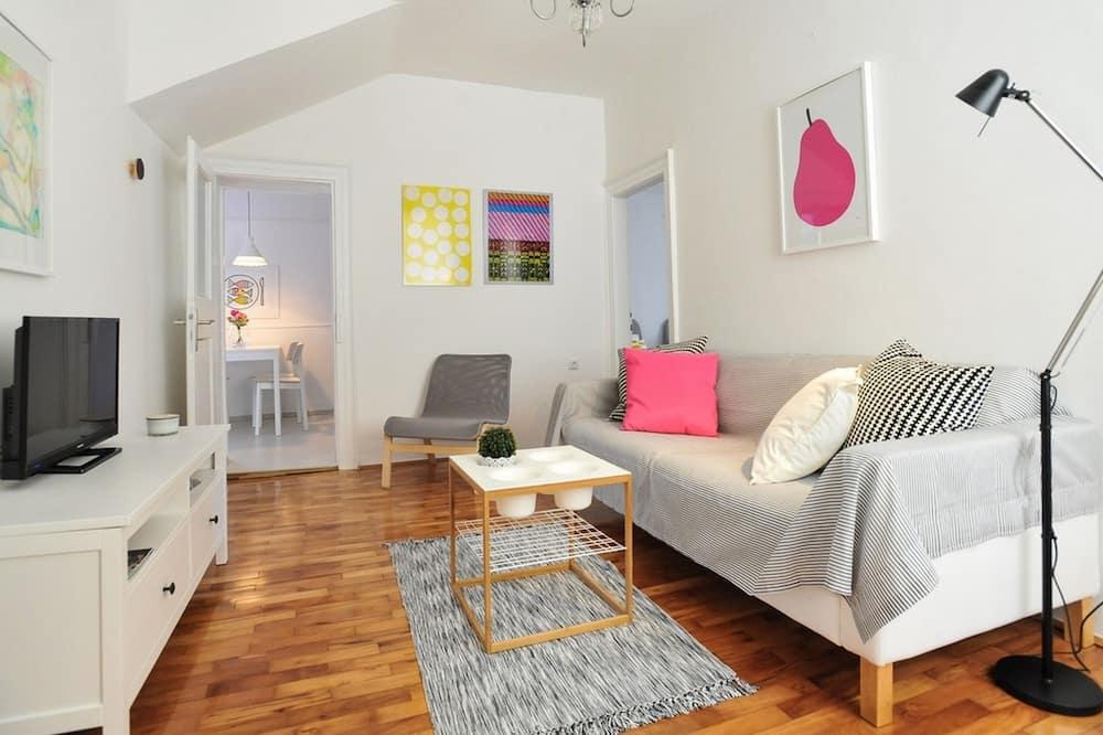 דירת קומפורט, 2 חדרי שינה - סלון