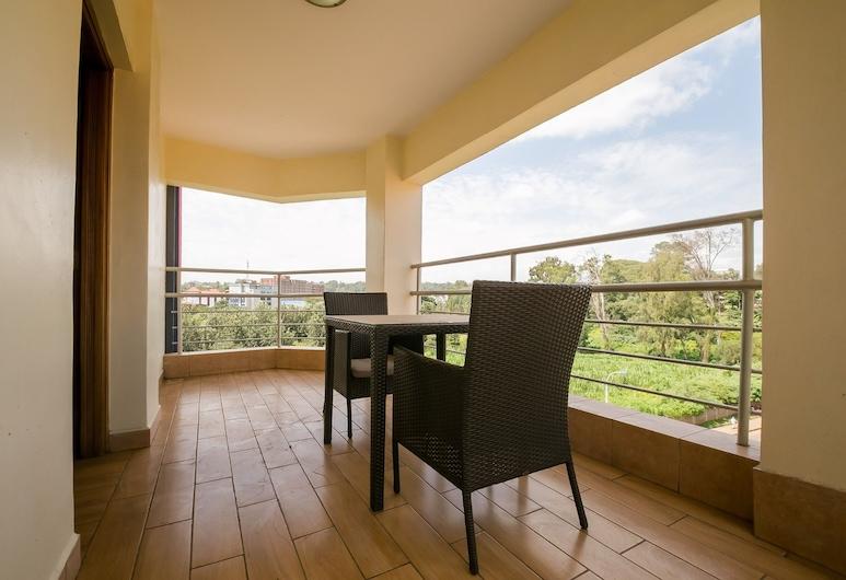 King's Suites, Nairobi, Standard Double Room, Balcony