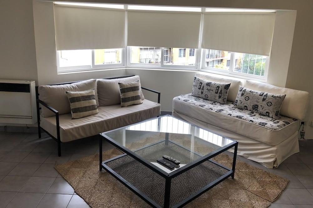 อพาร์ทเมนท์สำหรับครอบครัว - ห้องนั่งเล่น