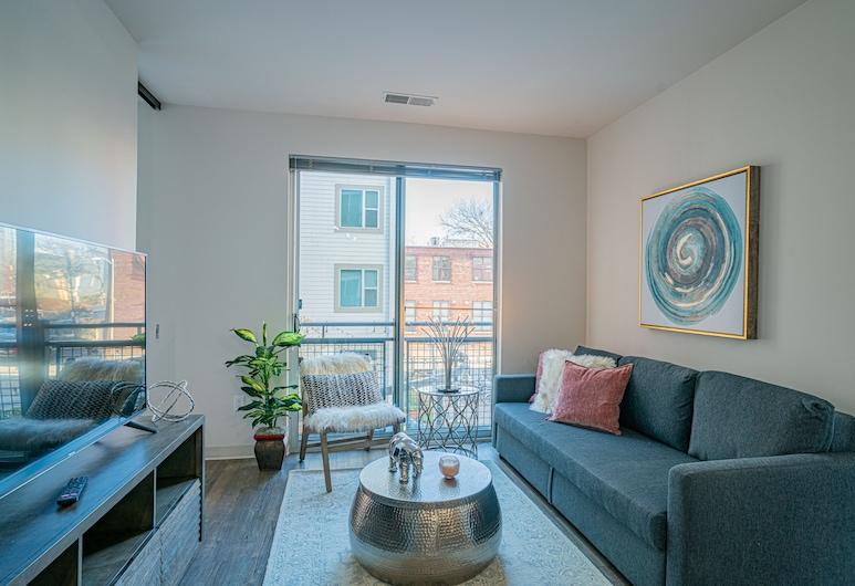 Washington DC Luxury Suites by H, Washington, Luxury Apartment, Living Room