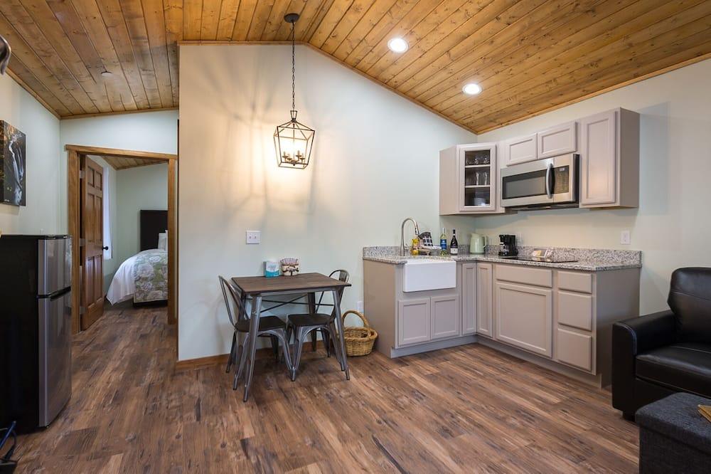 Deluxe-Ferienhütte - Wohnbereich