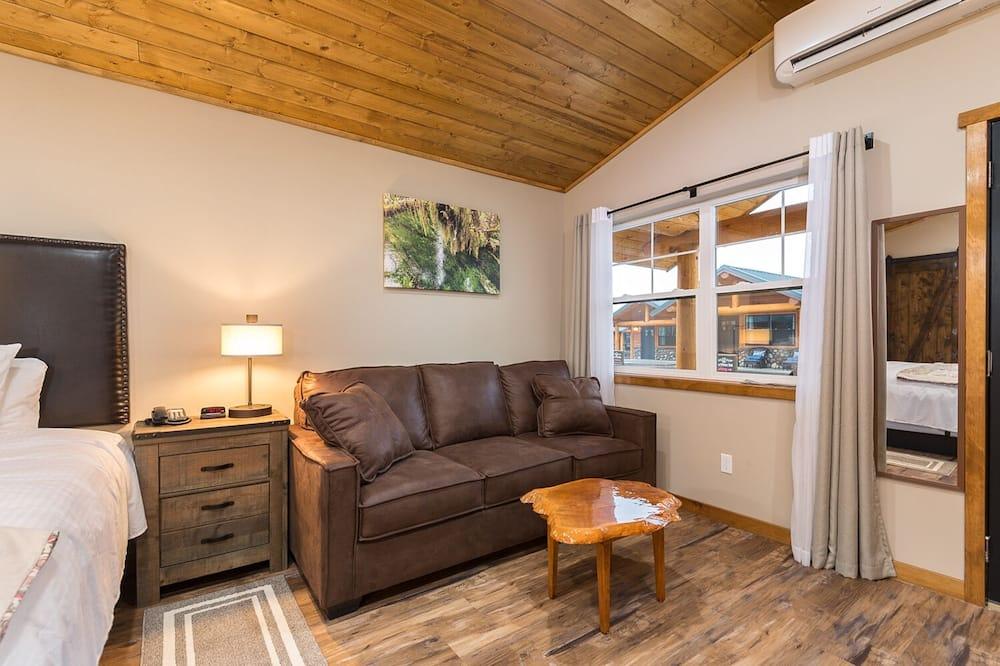 Standard-Ferienhütte - Wohnbereich