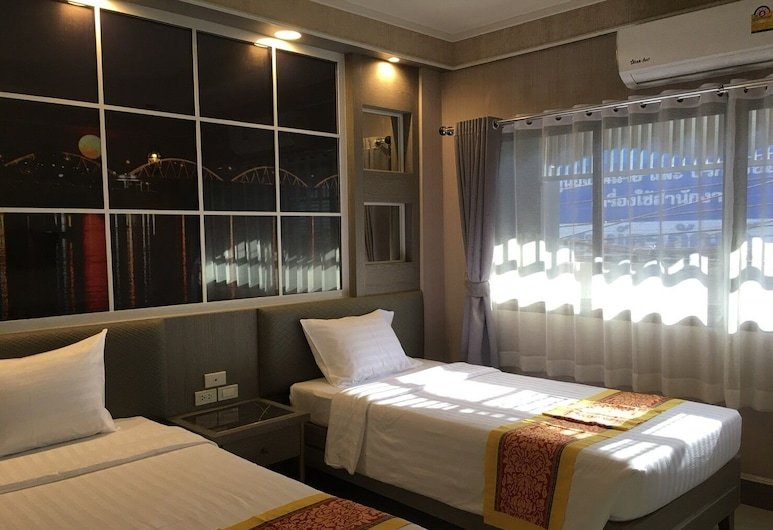 Grand Visanu Hotel, Nakhon Sawan, Basic Double Room, Guest Room