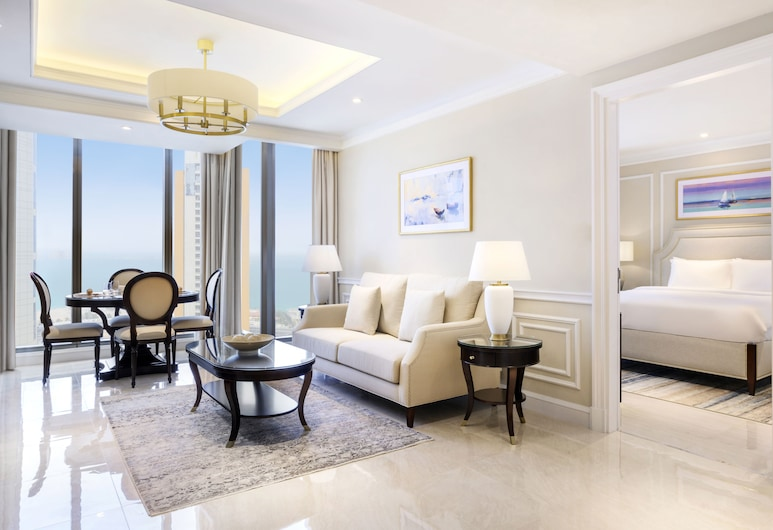 The Vyra Suites NH Collection Doha, Doha, Premium Apartment, 1 Bedroom, Sea View, Guest Room