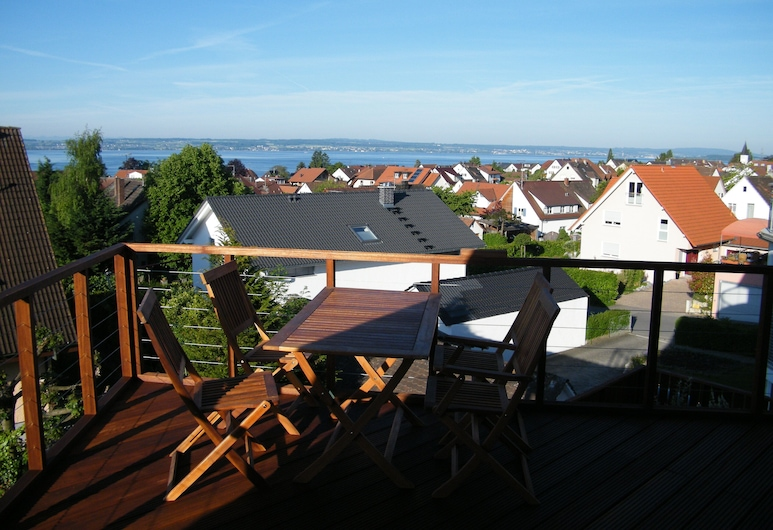 Gästehaus Fliegerhäusle Hagnau, Hagnau, Standard Double Room, Balcony, Lake View, Balcony
