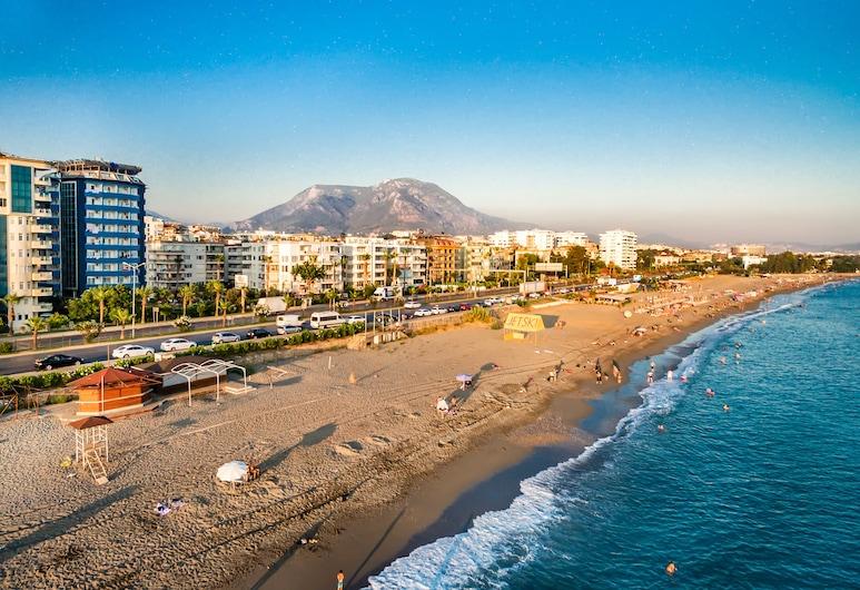 Arsi Blue Beach Hotel, Alanya, Pláž