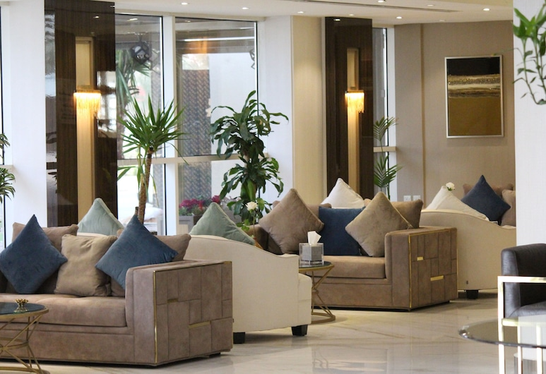 First Room Hotel Apartments, Riyadh, Siddeområde i lobby