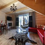Chalet Deluxe, 3 habitaciones - Sala de estar