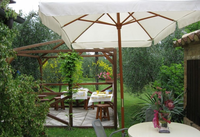 Giannetti bed & breakfast, Montalcino, Garden