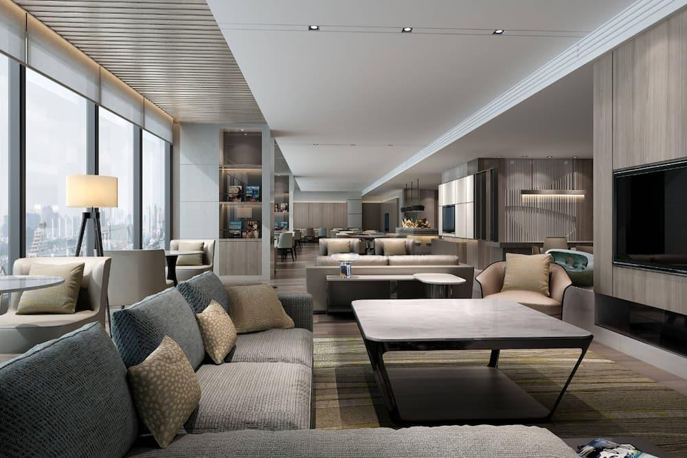 Phòng Suite Executive, 1 phòng ngủ, Không hút thuốc - Bar khách sạn