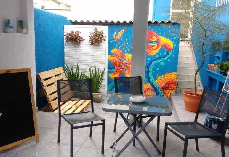 Kaleidoscópio Hostel, São Paulo, Terasa