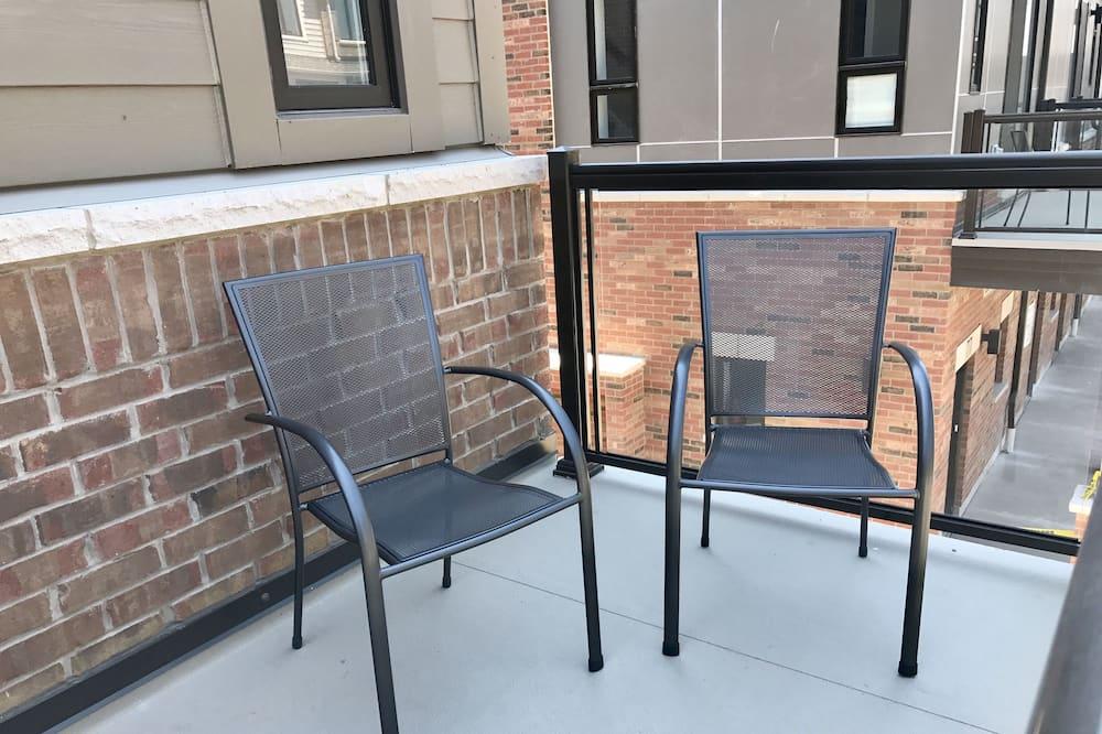 City-Stadtwohnung - Balkon