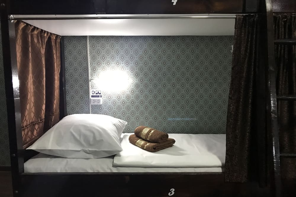 Bendrabutis, mišrus bendrabutis (Bed in 8-bed Room) - Svečių kambarys