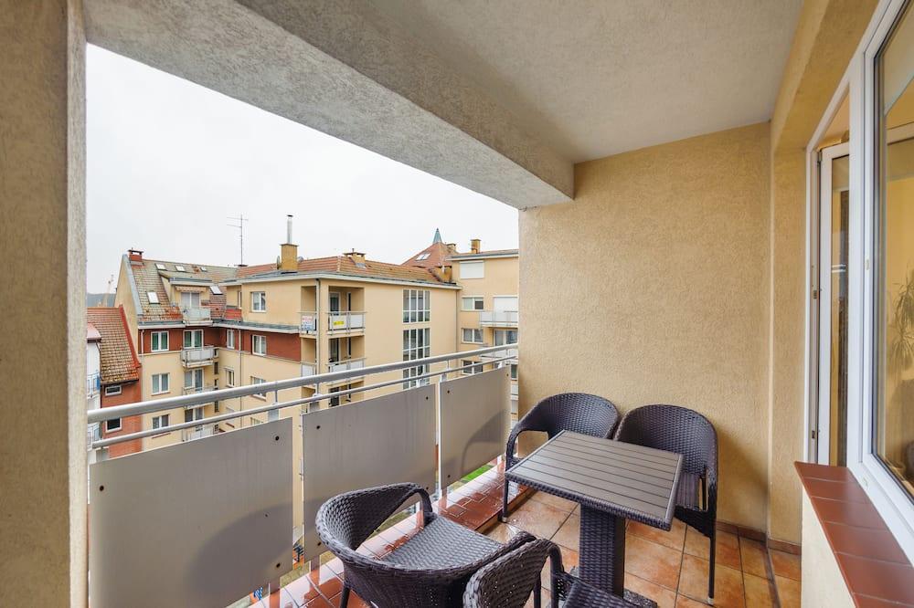 公寓 (404, ul. Obroncow Westerplatte 19) - 陽台