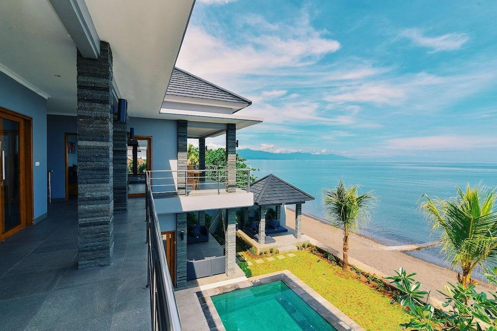 Luxury Villa, 3 Bedrooms, Private Pool, Beach View - Balcony