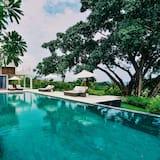 ラグジュアリー ヴィラ 5 ベッドルーム プライベートプール オーシャンビュー - 専用プール