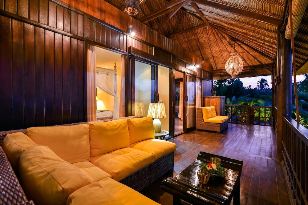 經典別墅, 4 間臥室, 私人泳池, 海灘景 - 露台