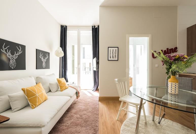Apartamento Davis, Madrid, Apartment, 2Schlafzimmer, Wohnbereich