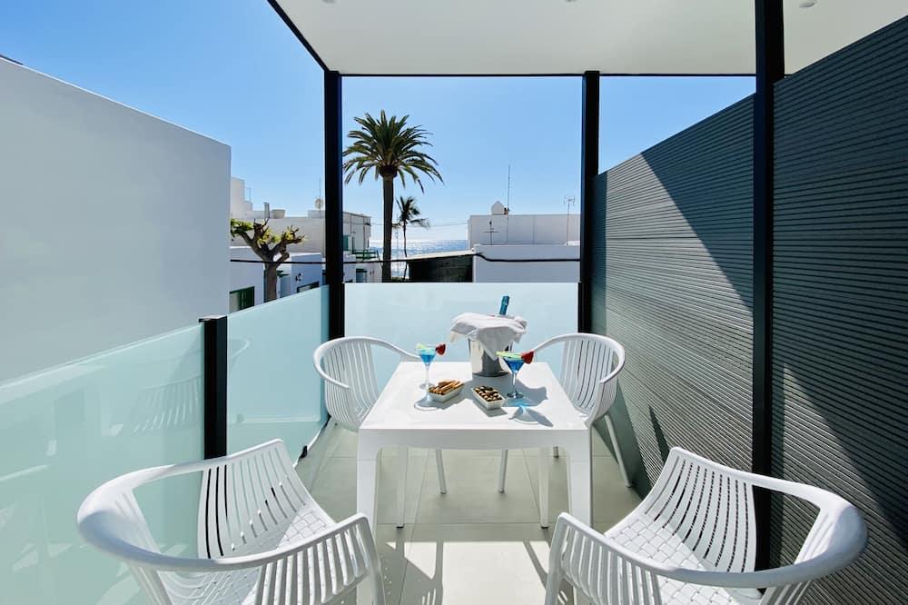 Familielejlighed - 2 soveværelser - terrasse - havudsigt - Terrasse/patio