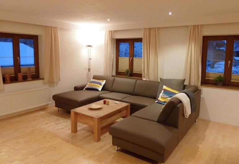 Modern Apartment With Sauna in Krimml, Krimml, Căn hộ, Phòng khách