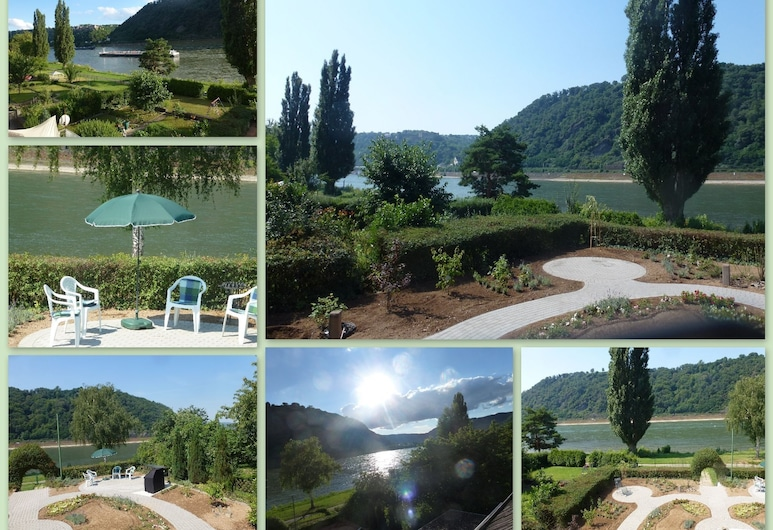 Amazing Holiday Home Directly on the Rhine With Roof Terrace and a Large Garden, Sankt Goarshausen, Pool
