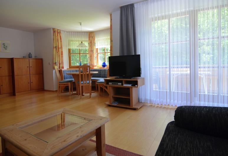 Bright and Modern Apartment in the Beautiful Berchtesgadener Land With Fireplace, Schoenau am Koenigssee, Sala de estar