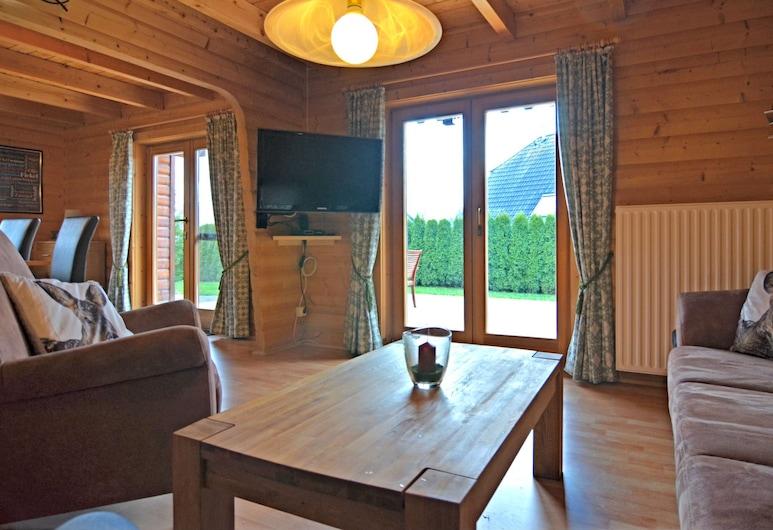 "Exclusive Holiday Home in the Sauerland With ""sleeping Barrel"", Balcony, Garden and Terrace, Медебах, Будинок, Вітальня"