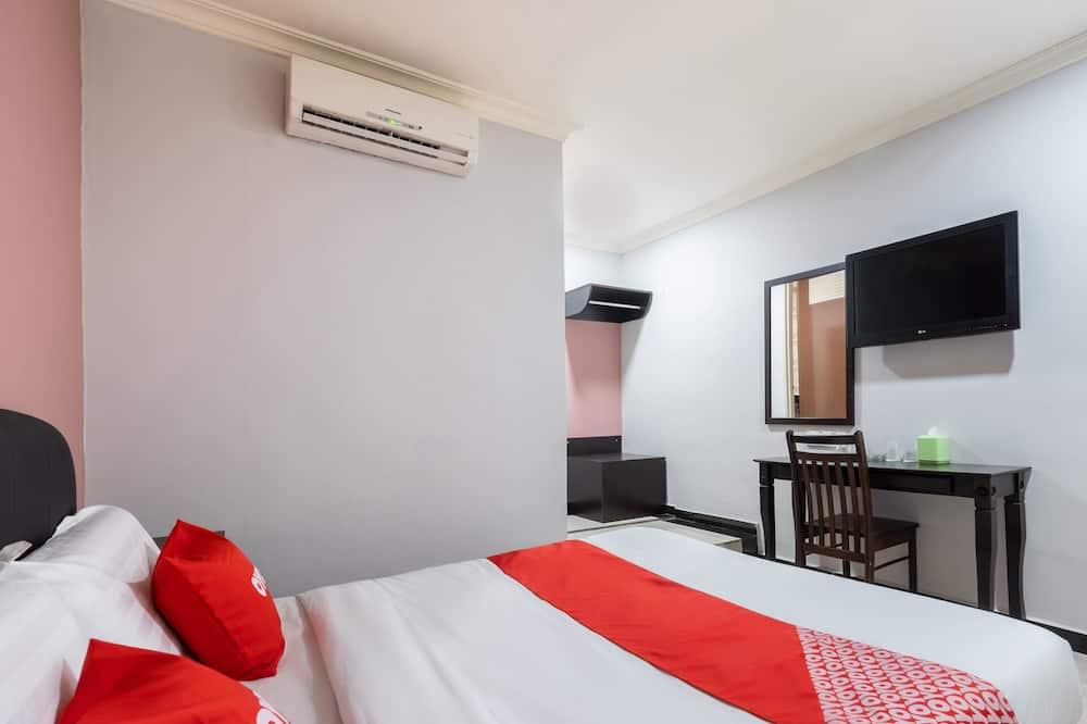 Standartinio tipo dvivietis kambarys, 1 didelė dvigulė lova - Svečių kambarys