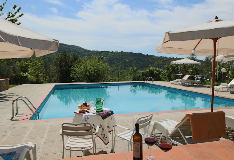 Rural Agritourismo With Panoramic Swimming Pool, Castelfranco Piandisco, Uima-allas
