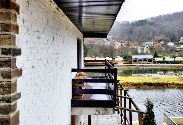 Modern Holiday Residence Located on the Banks of the Semois, Vresse-sur-Semois, Balcony