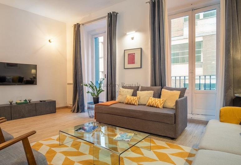 Plaza de España, Madryt, Apartament, 2 sypialnie, Powierzchnia mieszkalna