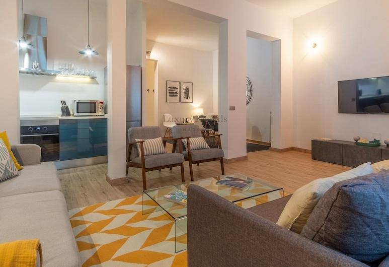 Plaza de España, Madrid, Căn hộ, 2 phòng ngủ, Khu phòng khách