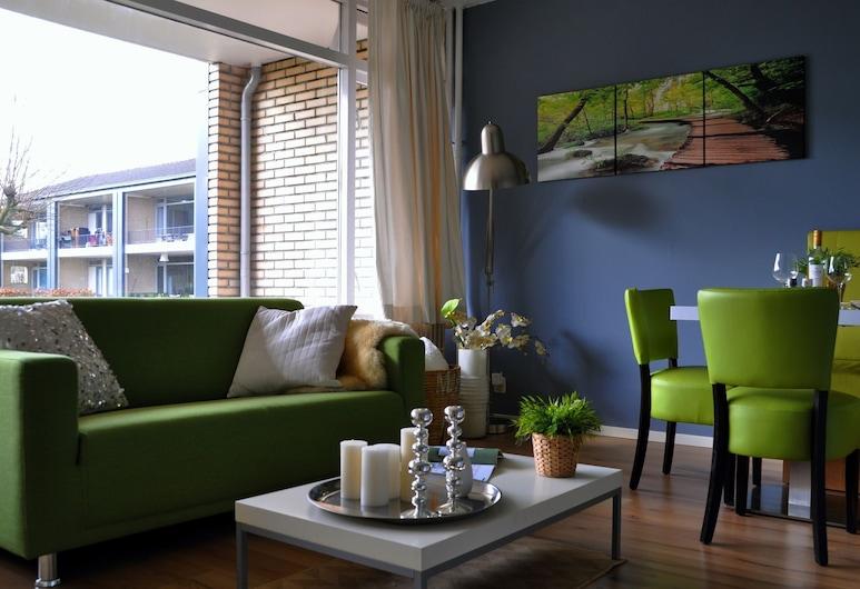 Modern Apartment in Noordwijk Near the Sea, Noordwijk, Living Room