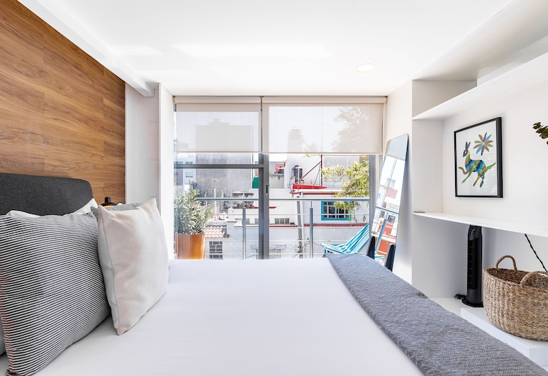Brand New Studio in Perfect Location!, Meksikas, Apartamentai (1 Bedroom), Kambarys