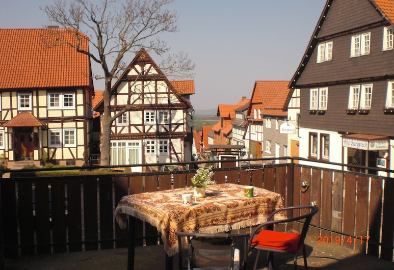 Apartment in Bad Arolsen With Private Terrace and Barbecue, Bad Arolsen, Balkon