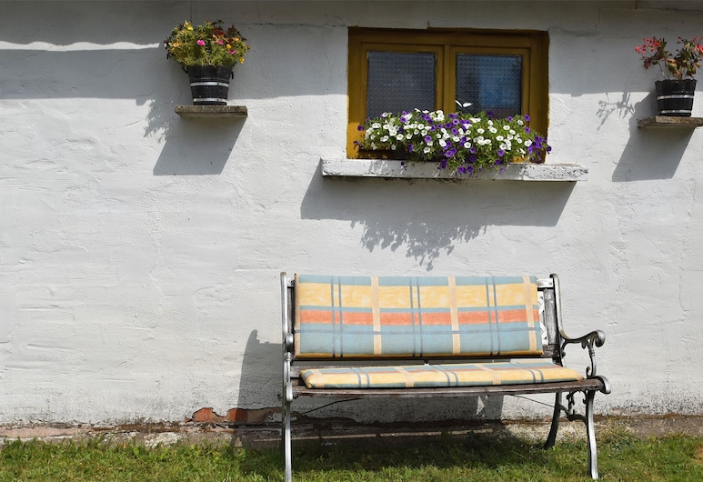 Cozy Holiday Home in Schwarzbach Thuringia With Garden, 奧恩倫德, 花園