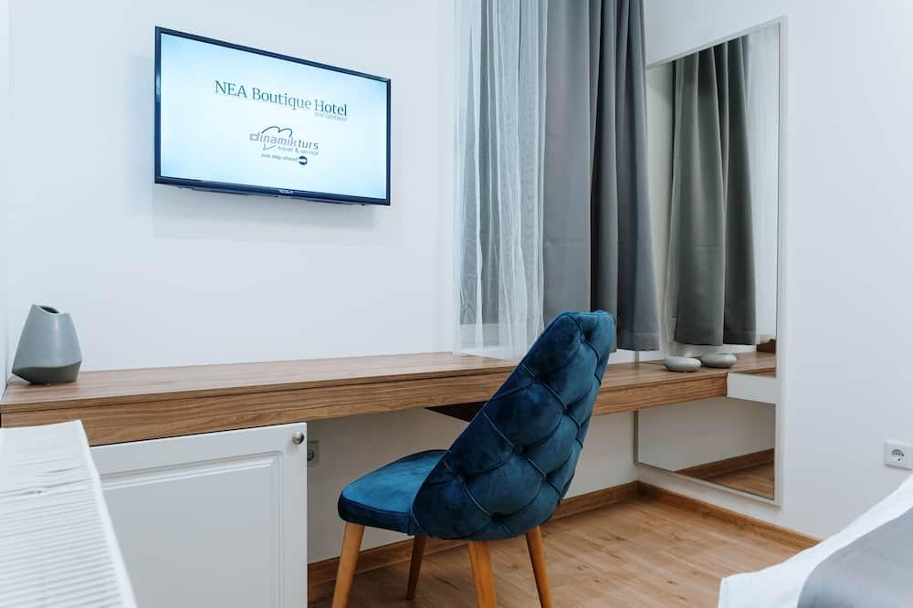 Phòng đôi phong cách cổ điển, 1 giường cỡ king - Khu phòng khách