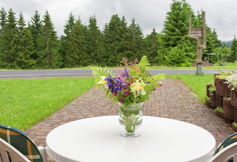 Beautiful Apartment in Frauenwald at the Rennsteig in a Very Quiet Location, Frauenwald, Balcón
