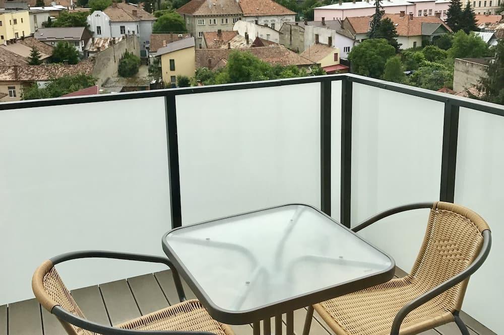 Panoramic-Apartment (Loft) - Balkon