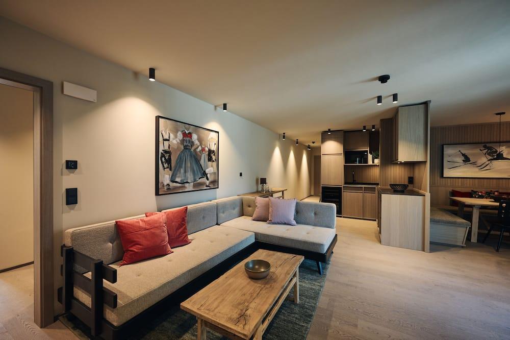 Panoramic Room (Galzig Suite) - Living Area