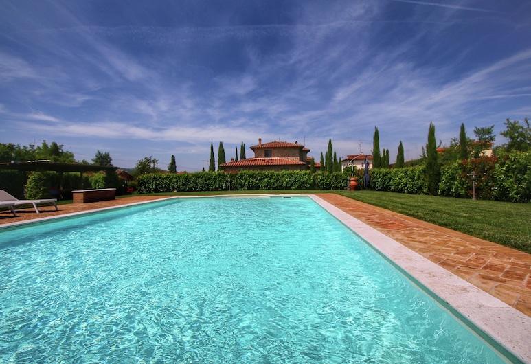คอทเทจหรูในลูชิญญาโน พร้อมสระว่ายน้ำ, Lucignano, บริเวณภายนอก