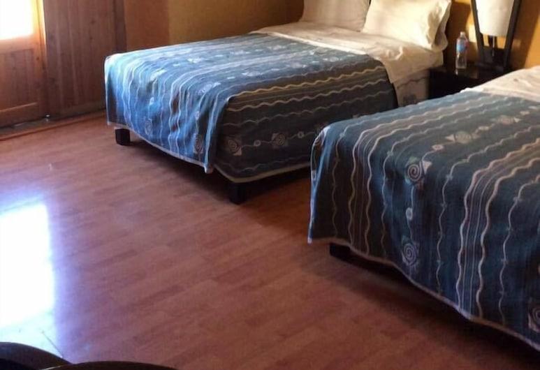 Hotel Plaza Mayor, Tlalpujahua, City négyágyas szoba, Vendégszoba