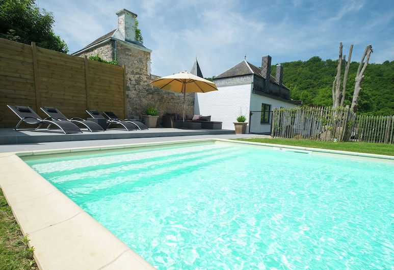Modern Mansion in Hastière-par-delà With Private Pool, Hastiere, Exterior