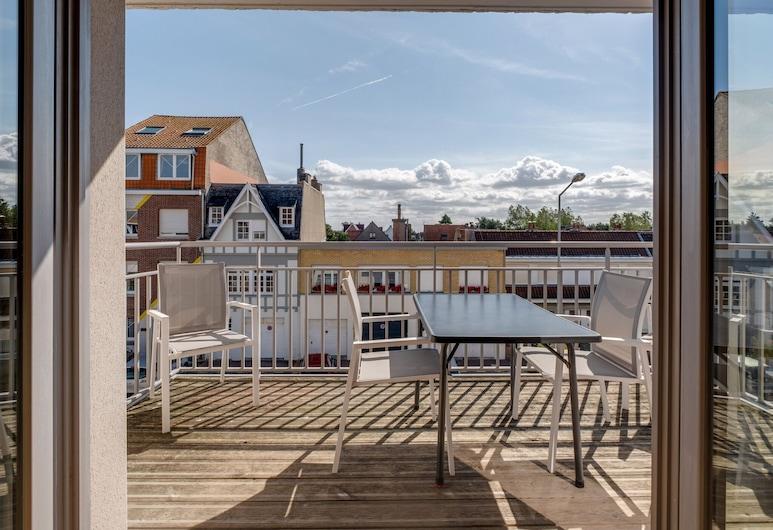 Modern Apartment in Bray-dune With Seaside View, Bray-Dunes, Балкон