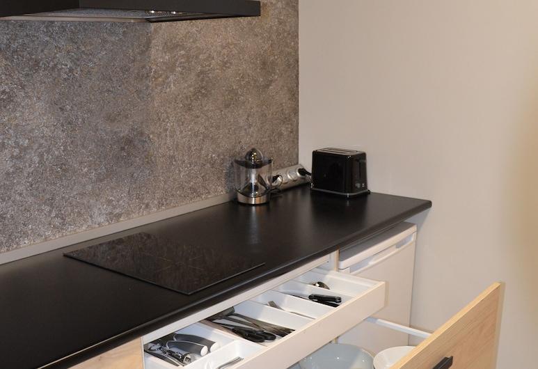 Alojamiento Renueva, León, Appartement Familial, 1 chambre (Renueva Norte), Cuisine privée