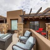 Vila, Beberapa Tempat Tidur (Overlook Oasis) - Balkon